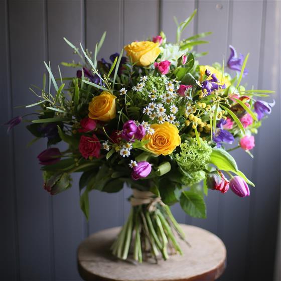 A spring bouquet meades florist southend a spring bouquet mightylinksfo